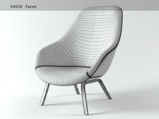 About a Lounge Chair AAL93 9