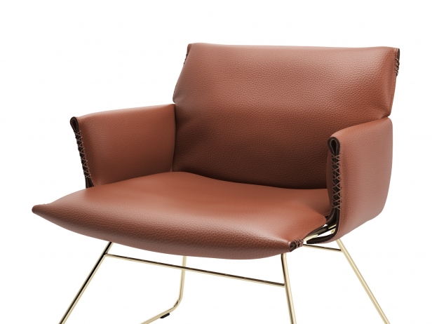 DS-515 Lounge Chair with Armrests 2
