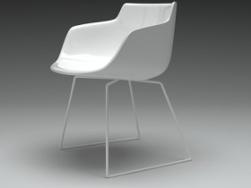 Flow armchair sled base