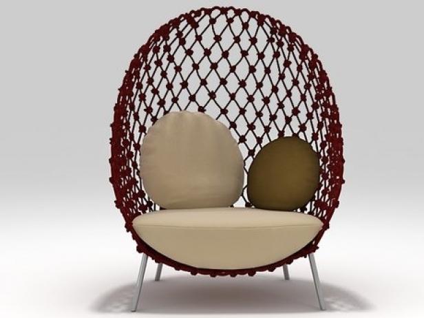 Dragnet Lounge Chair 3d Model Kenneth Cobonpue Philippines