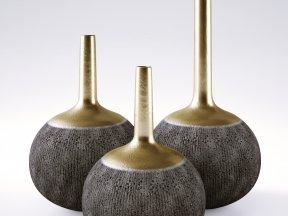 BOYAN POTTERY Long Neck Vases
