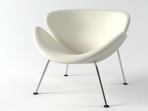 Orange Slice Chair 3