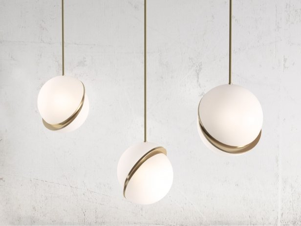 Crescent Pendant Light 1