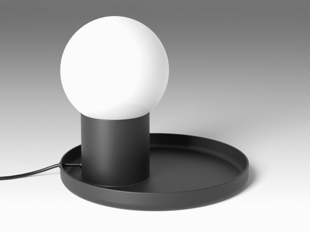coupole table lamp 3d model ligne roset. Black Bedroom Furniture Sets. Home Design Ideas