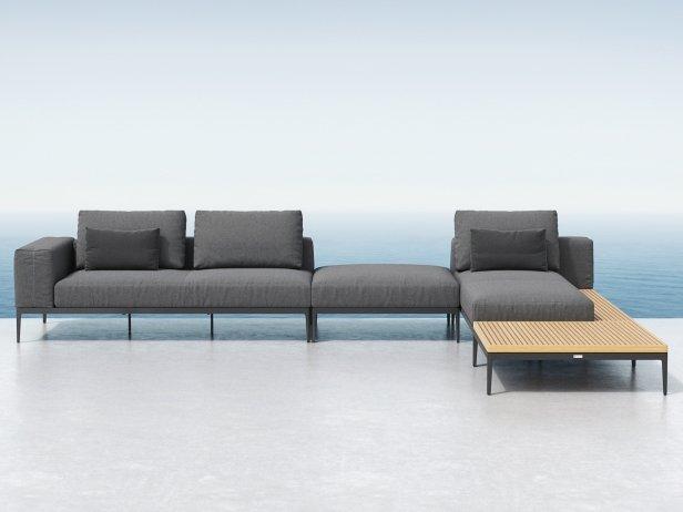 Outdoor Corner Sofa Comp D 1
