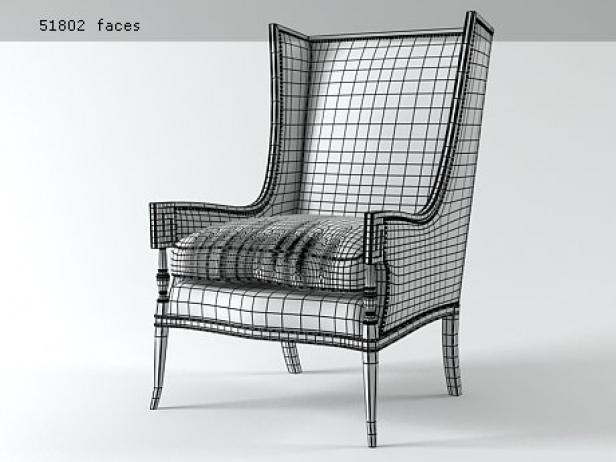 Highback Armchair 5