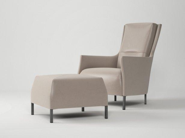 Riga Armchair & Footstool 3
