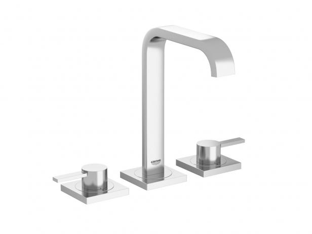 Cube Countertop Basin 100 Set 9