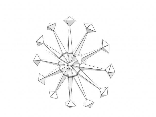 Polygon Clock Nelson 4