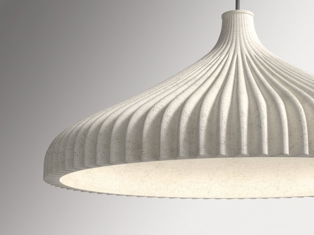 Calicot Suspended Ceiling Light 2