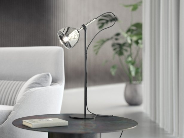 Chrome Bell Table Light 1