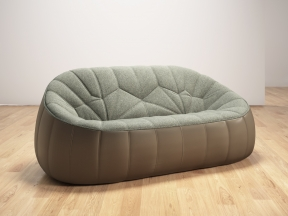 Ottoman 2-Seater Sofa