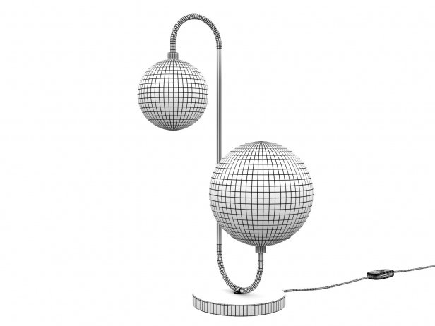 Pelle Table Lamp Asymmetrical 2
