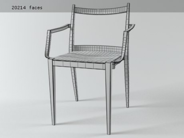 Play wooden armchair 14
