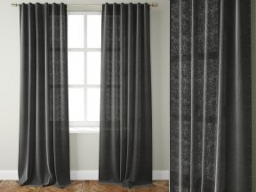 Studded Wool Curtain