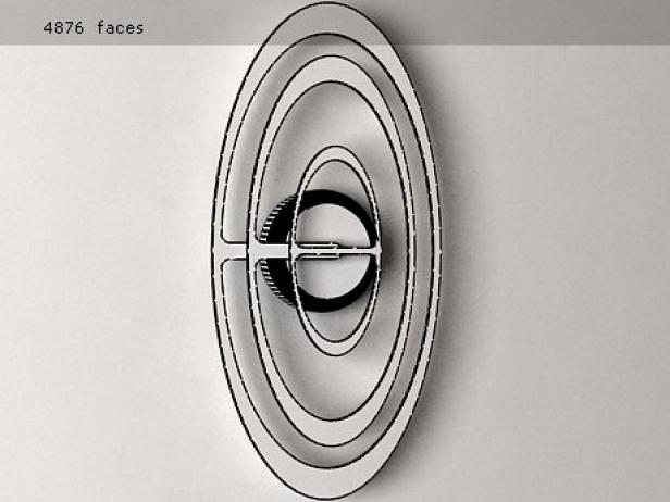 Orbit Clock 6
