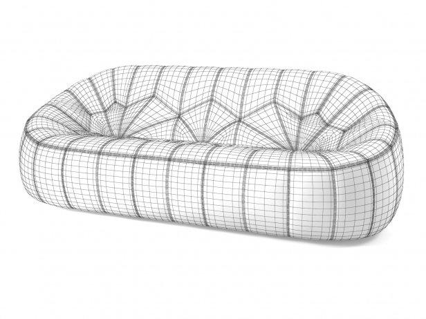 Ottoman 3-Seater Sofa 9