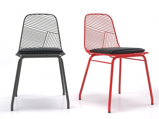 Wire Chair 3