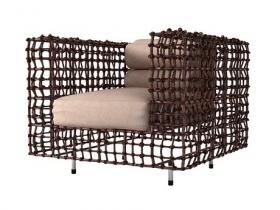 Yin & Yang Easy Armchair