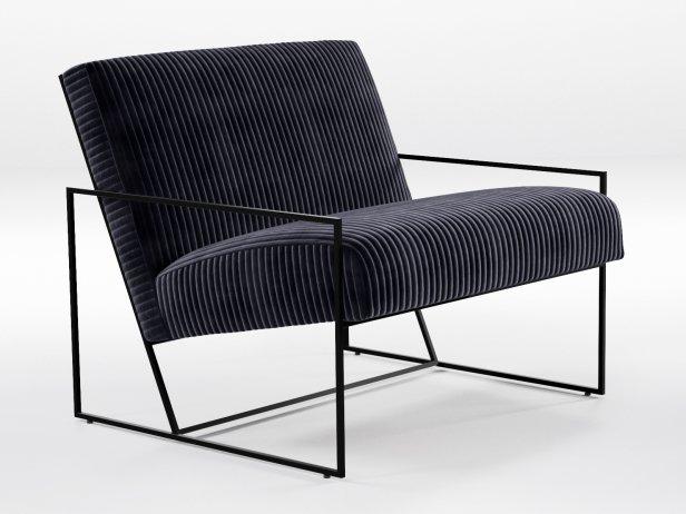 Thin Frame Lounge Chair 1
