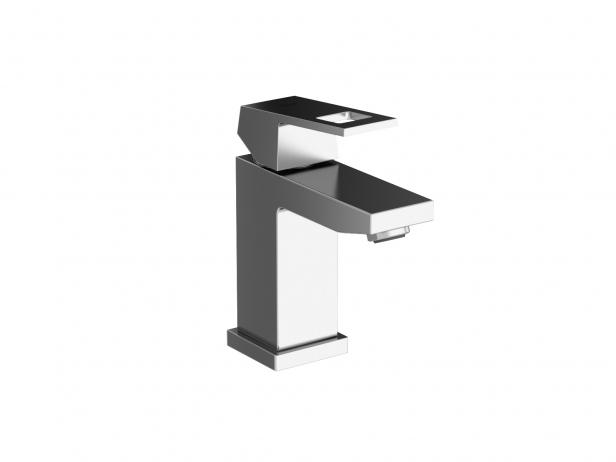Cube Wall-hung Basin 50 Set 2