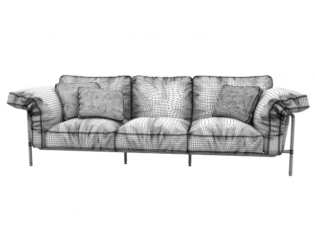 DS-610 3-Seater Sofa 4