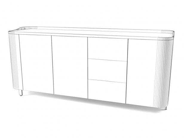 Postmoderne Sideboard 3