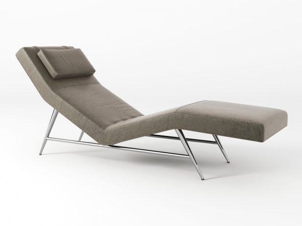 Fred Armless Chaise 6
