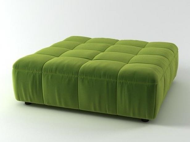 strips pouf 125 3d model arflex international spa. Black Bedroom Furniture Sets. Home Design Ideas