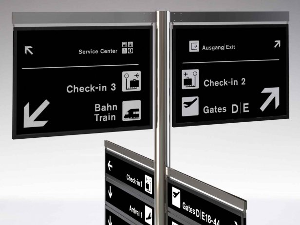 Signage Tree Airport System 1