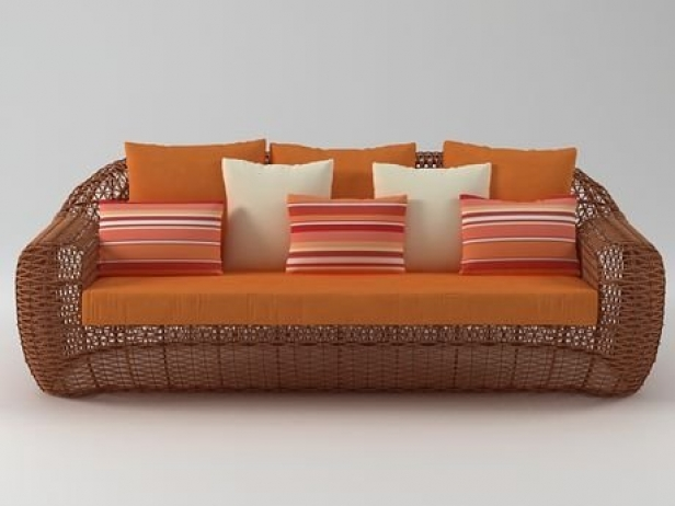 Balou Daybed 3D-Modell   Kenneth Cobonpue