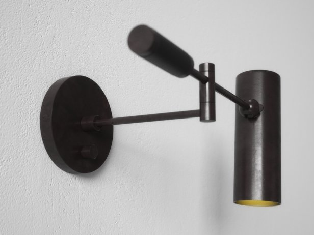 Cylinder Swing Arm Sconce Lamp 3