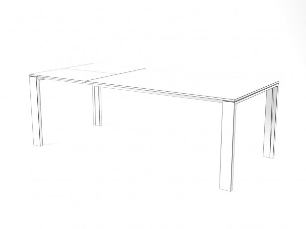 Naia Extendable Dining Table 10