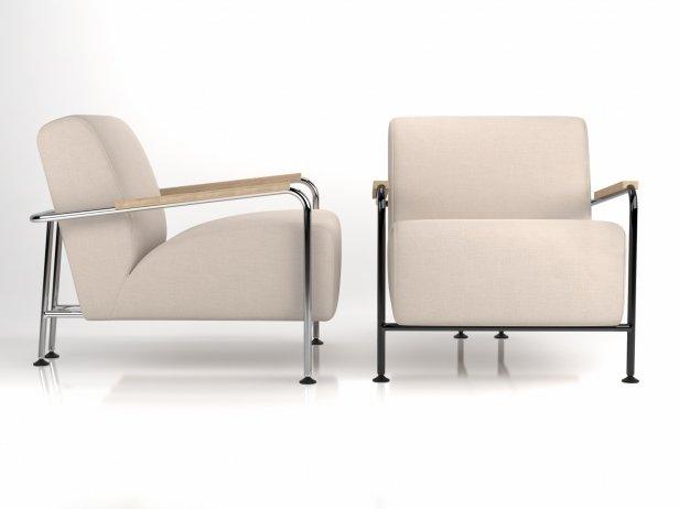 Colubi armchair 3d model viccarbe habitat for Sessel 3d dwg