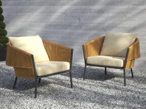 Lapel Lounge Chair