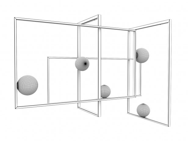 Mondrian Pendant Lamp 5