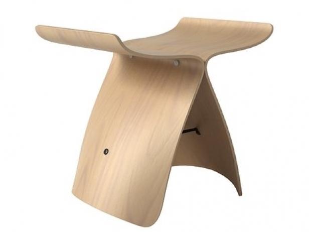 Butterfly Stool 3d Model Vitra Switzerland