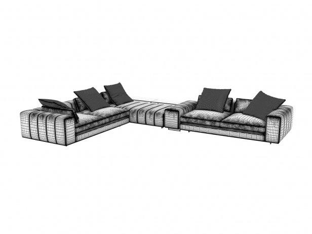 Freeman Corner Sofa System C 7