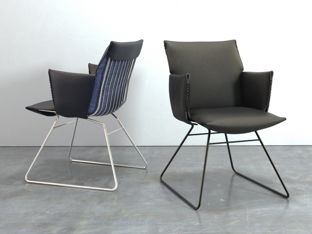 DS-515 Chair with Armrests 4