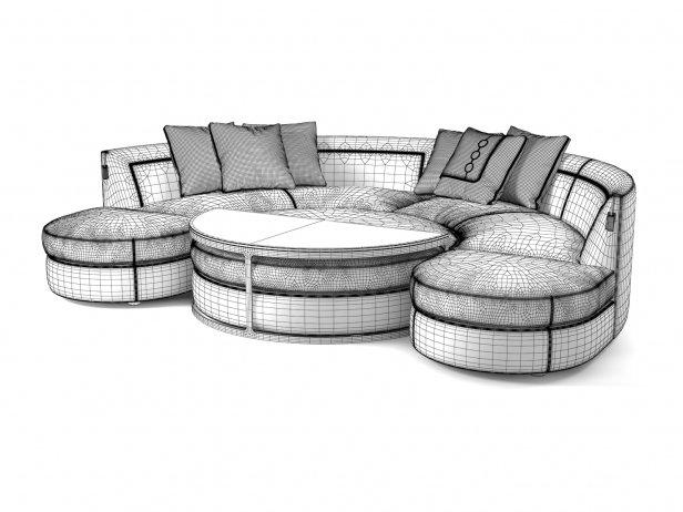Borromeo Modular Sofa 7