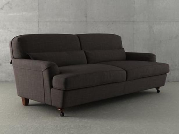 Raffles twoseater sofa 3d model | De Padova