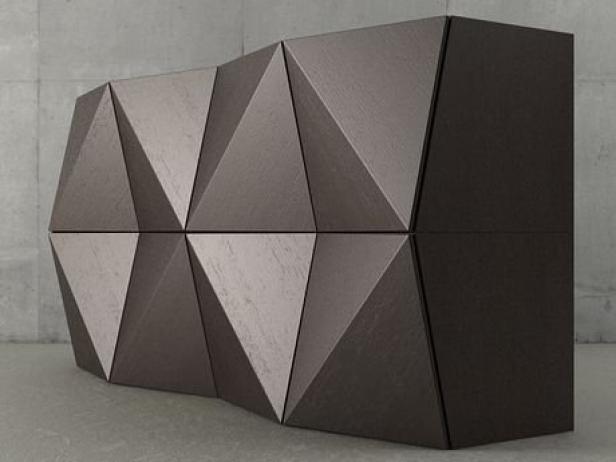 origami storage unit 3d model reflex angelo