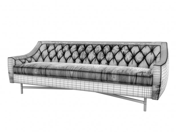 Coco Tufted Sofa 6