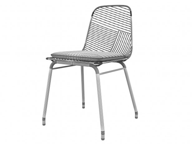 Wire Chair 2