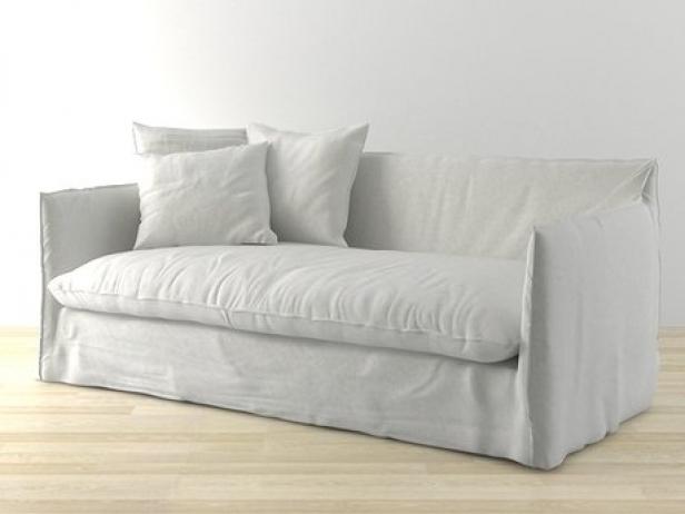 Ghost 15 sofa 3d model gervasoni for Sofa cama 1 50 de ancho