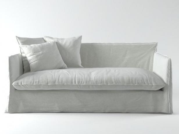 Ghost 15 sofa mod le 3d gervasoni - Gervasoni divano letto ...