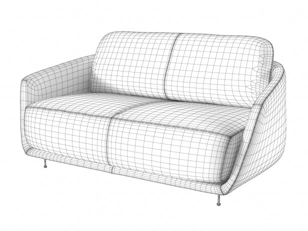 Okura Medium Sofa Low Back 5
