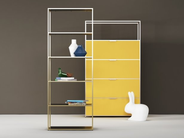 Dita High Unit and Shelving 2