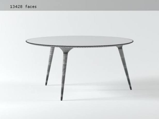 table for bedroom icicle table series 3d model fredericia furniture 13428