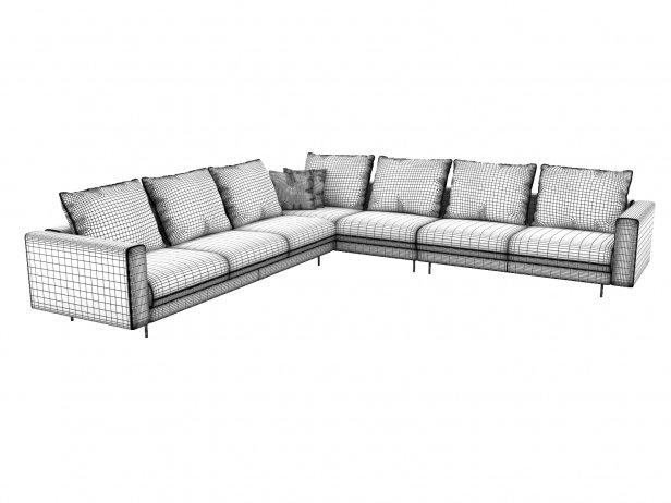 Enki Corner Sofa 7